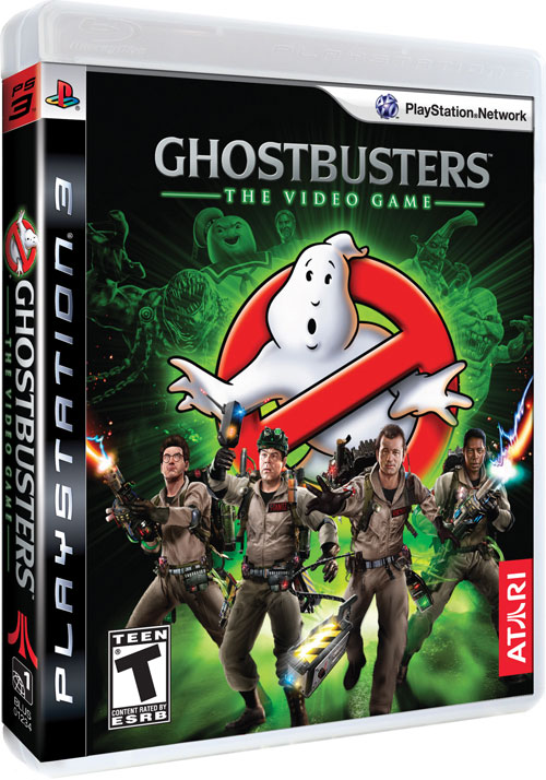 ghostbusters game box art for ps3 xbox 360 and wii