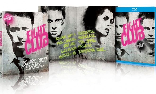 fight club blu ray  A Look at Fight Club's Blu-ray Packaging - TheHDRoom