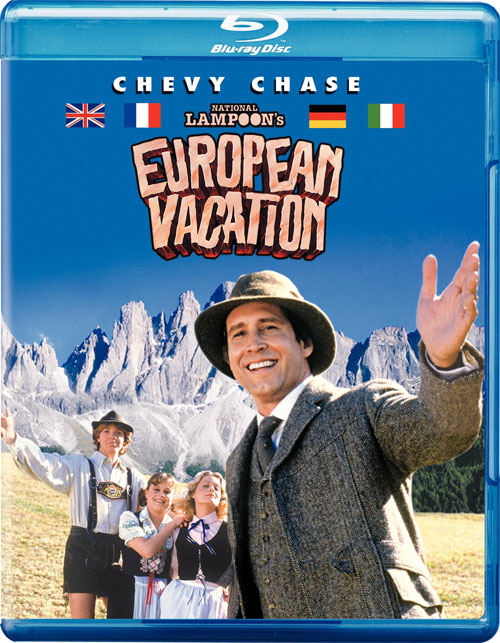 Vacation And European Vacation Blu-ray Bound
