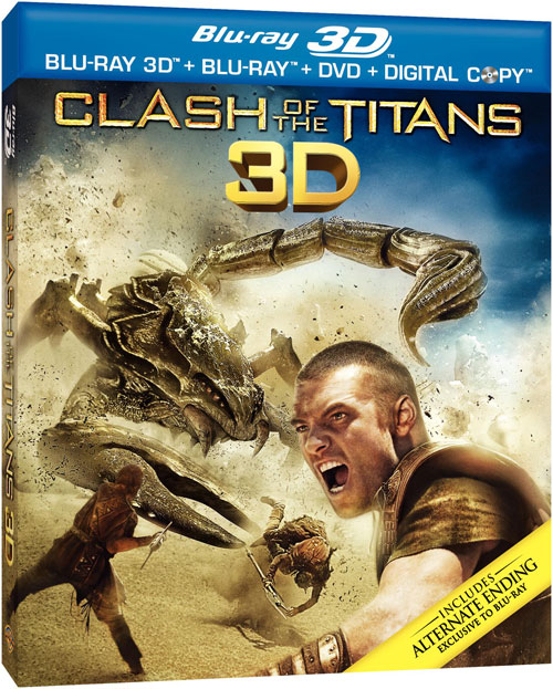 Blu-ray Covers: World Cup 3D, True Grit, Clash Of The