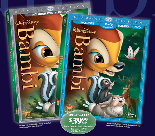 Bambi Diamond Edition Blu Ray Release Date Details And