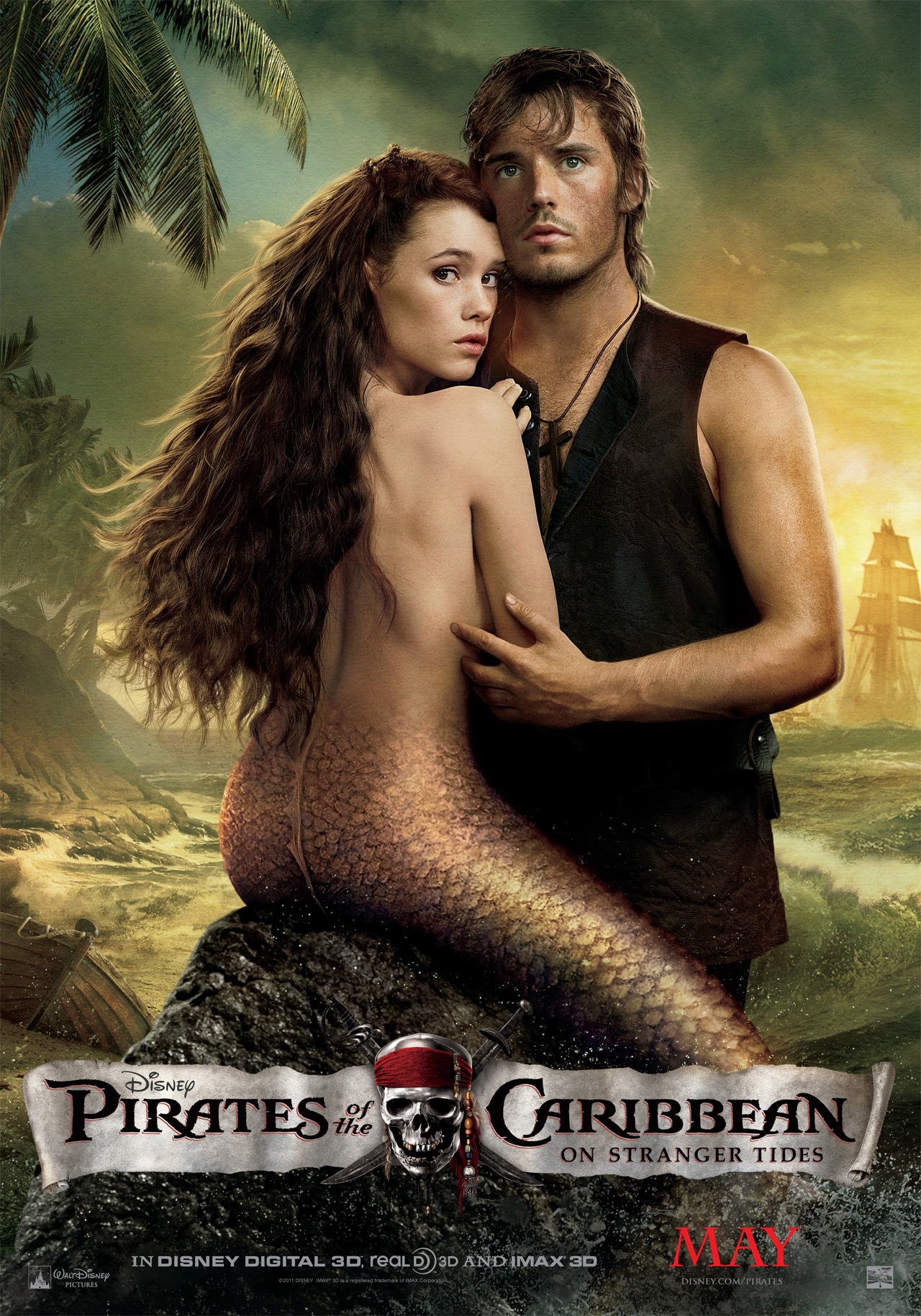 New Pirates of the Caribbean: On Stranger Tides International Mermaid Posters - TheHDRoom