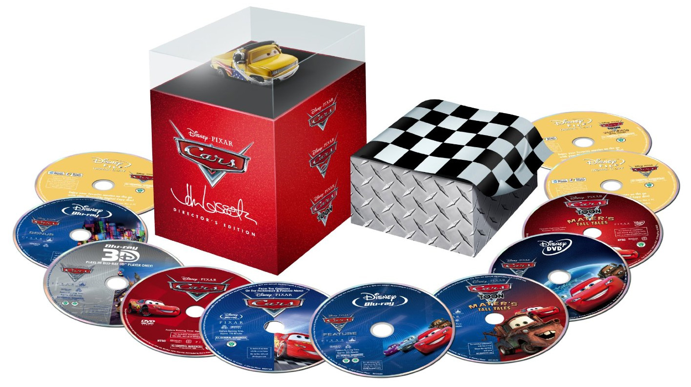 Cars  Release Blu Ray