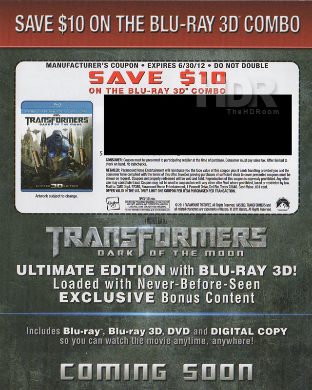 Warriors Vs Knights Live Stream Free: Transformers: Dark Of The Moon Blu-ray Includes $10 Off