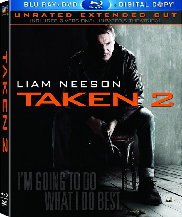 Rockets Vs Warriors Box: Taken 2 Blu-ray Release Date, Details And Cover Art