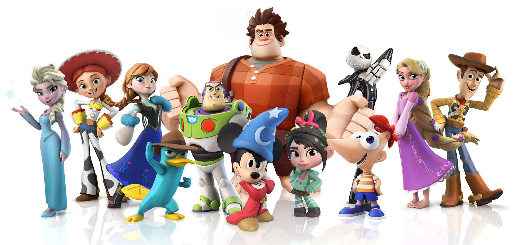 Disney Infinity Wave 2 Figures Include Mickey Mouse