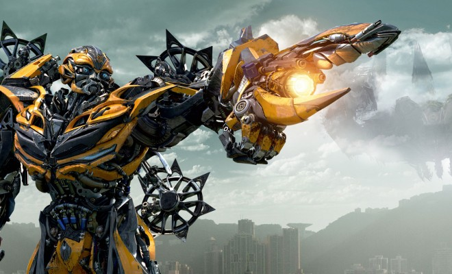 Transformers Age Of Extinction Gets New Poster And Looks At Optimus Prime Bumblebee