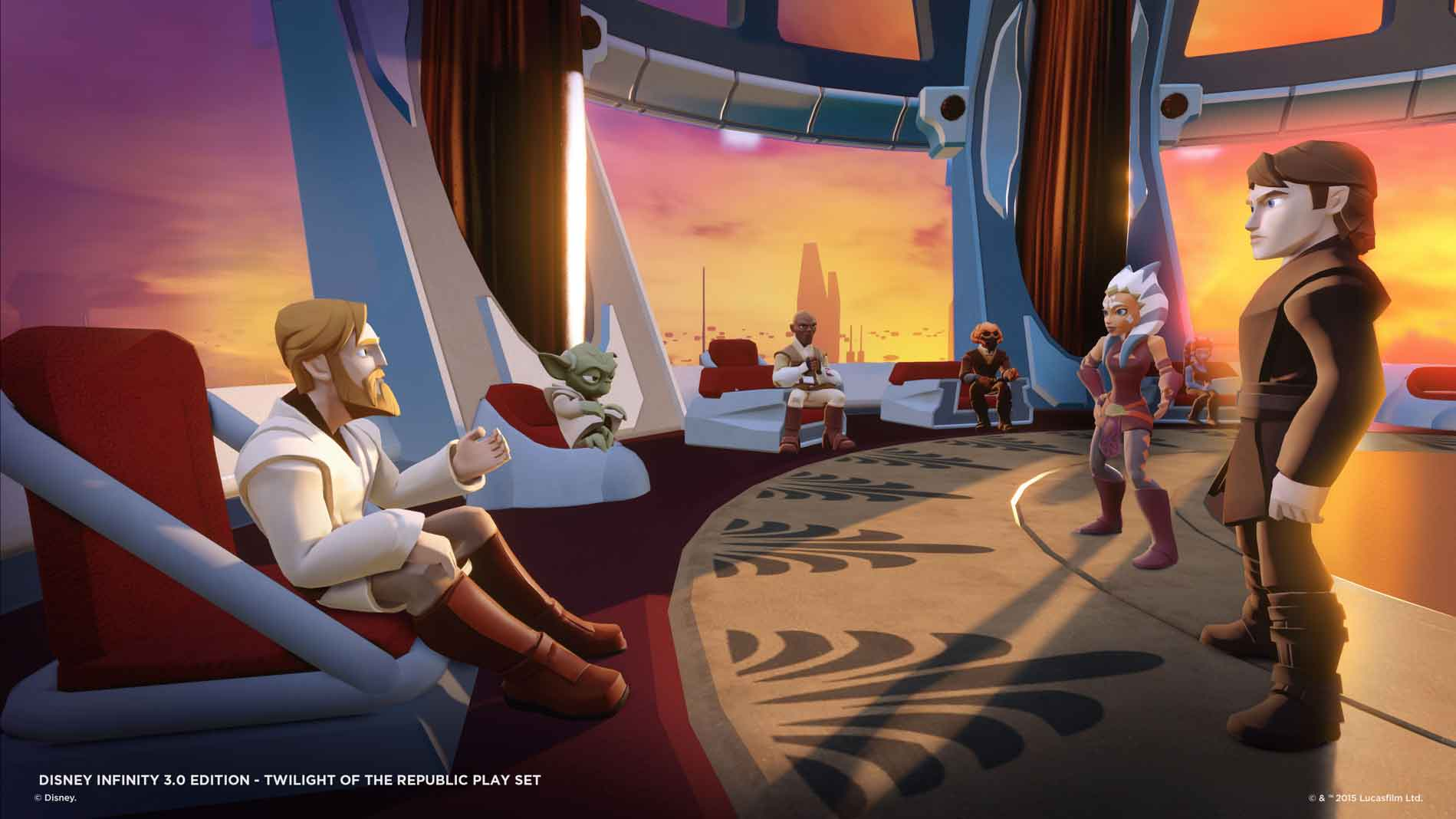 Star Wars Trailer Espn >> Disney Infinity 3.0 Twilight of the Republic Play Set High-Res Screens and New Details - TheHDRoom
