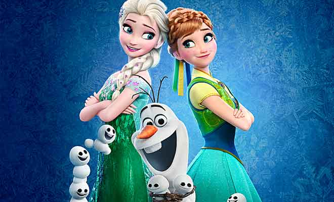 Frozen fever dvd and blu ray part of walt disney animation - Fever wallpaper hd ...