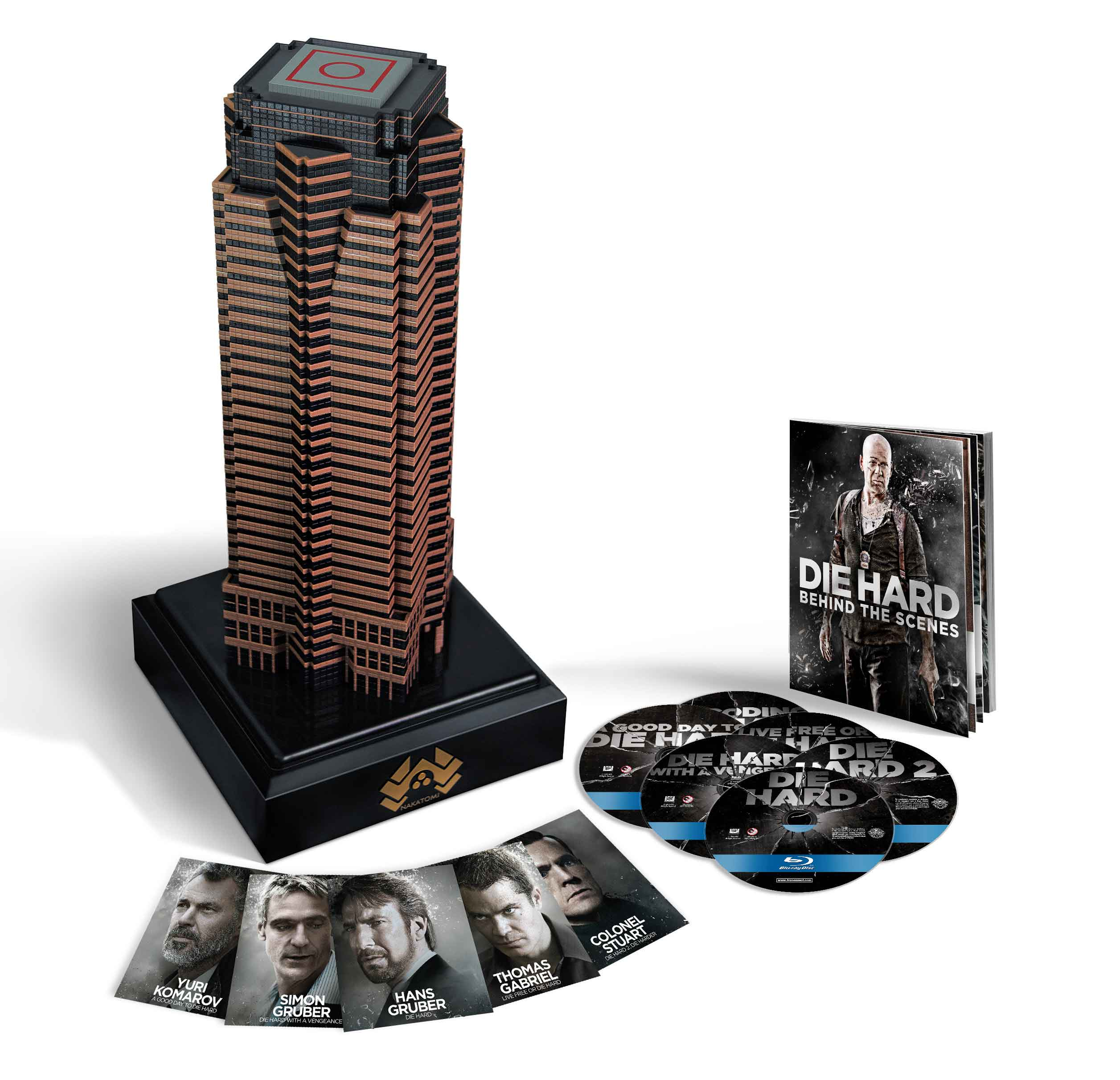 Nakatomi Plaza Die Hard Collection Blu Ray Set Is 40