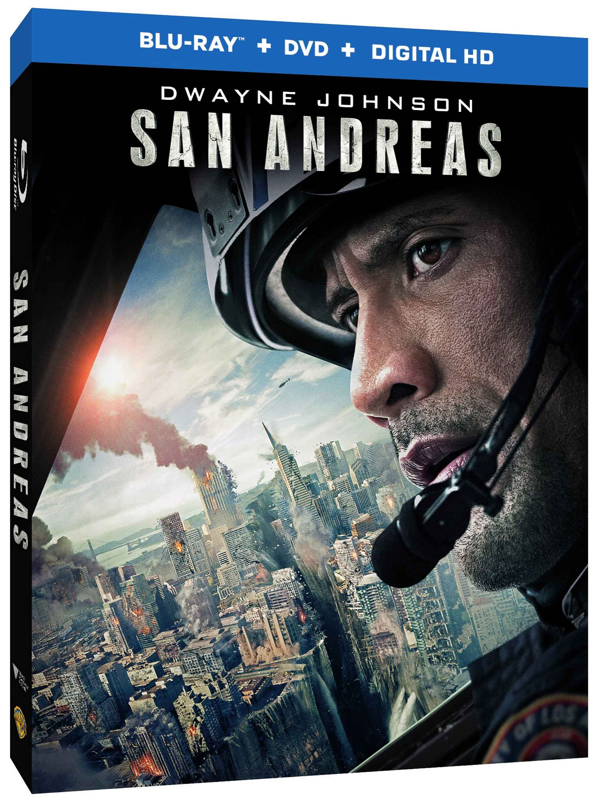 San Andreas Starring Dwayne Johnson Rumbles To Blu Ray 3d