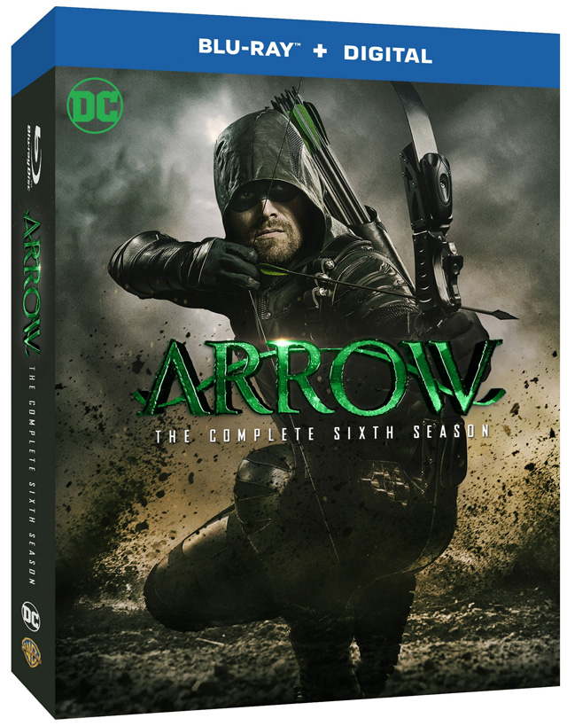 Arrow Season 6 Blu Ray And DVD Release Date And Details