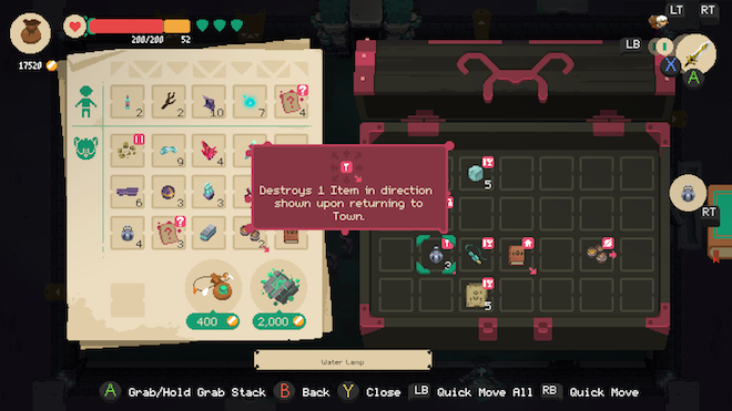 Moonlighter Review Doing It All Thehdroom