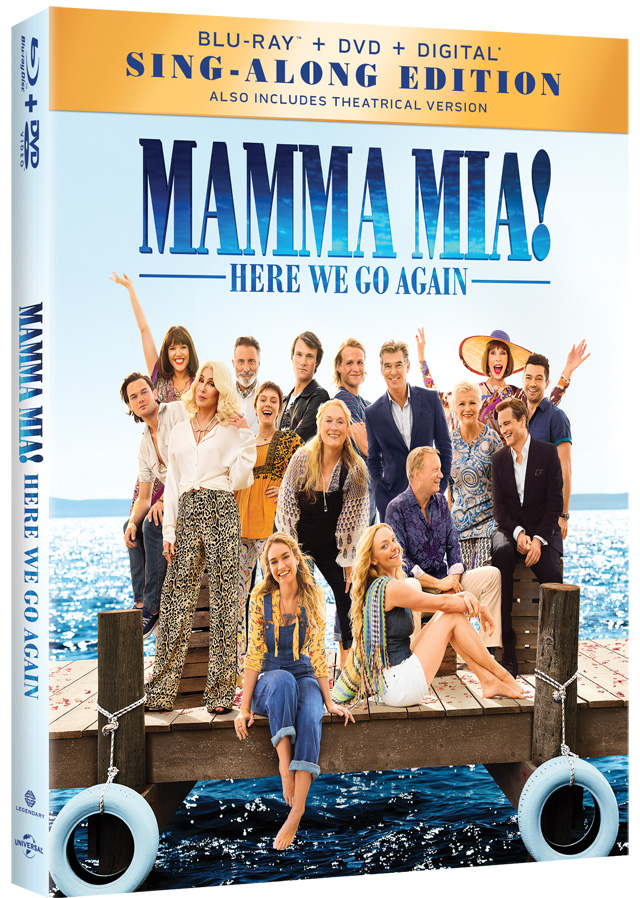 'Mamma Mia! Here We Go Again' 4K, Blu-ray, DVD and Digital Release Dates and Details - TheHDRoom