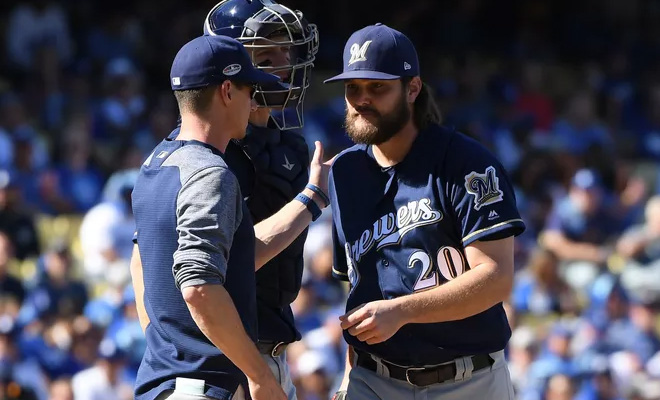 Dodgers Vs Brewers Nlcs 2018 Fs1 Live Stream Watch Game