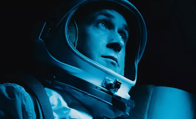First Man' Starring Ryan Gosling 4K, Blu-ray, DVD and