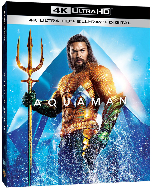 39 aquaman 39 4k blu ray dvd digital release dates and. Black Bedroom Furniture Sets. Home Design Ideas