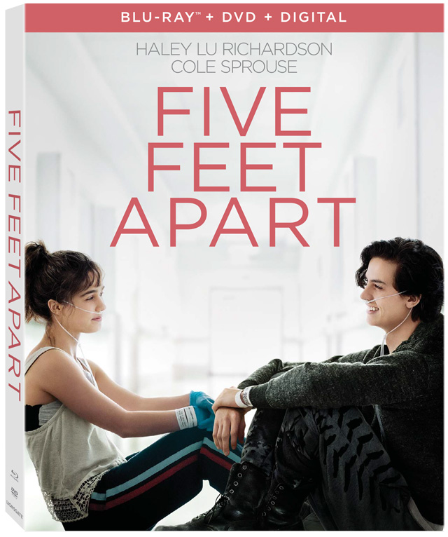 'Five Feet Apart' Blu-ray, DVD And Digital Release Dates