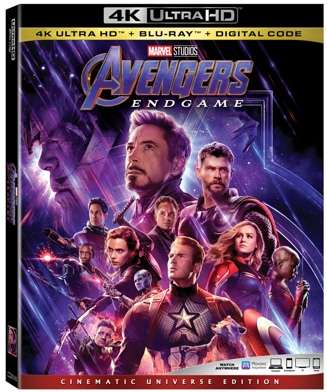 Avengers Endgame Home Video Debut Dated And Detailed